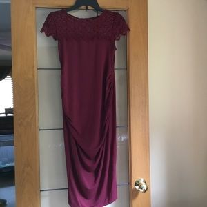 Fitted maternity dress